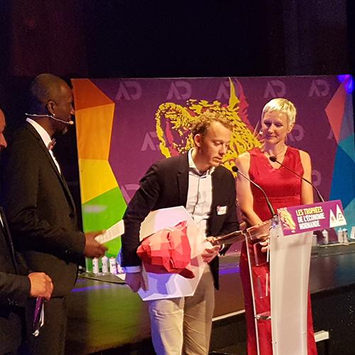 Trophées de l'économie normande, remise des prix 2017